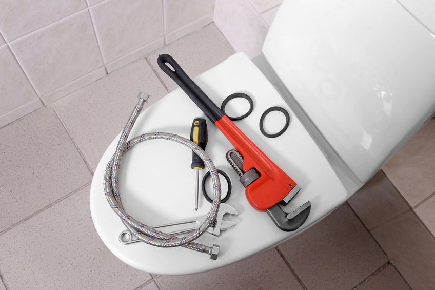 sewer and drain technician's tools
